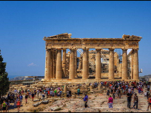 Delta / Air France / KLM Royal Dutch – $586 (Regular Economy) / $486 (Basic Economy): Chicago – Athens, Greece. Roundtrip, including all Taxes