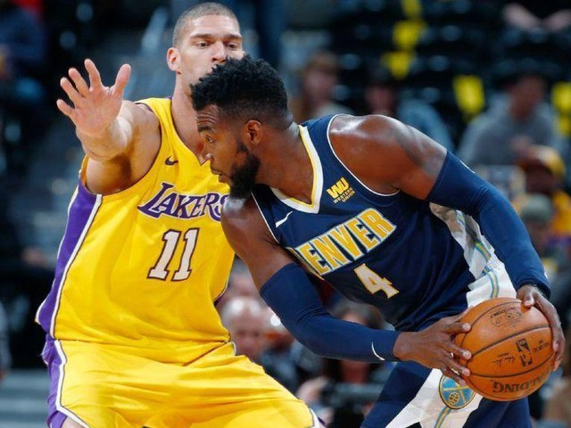 Lakers' road game winning streak snapped by Paul Millsap in loss to Nuggets 125-116