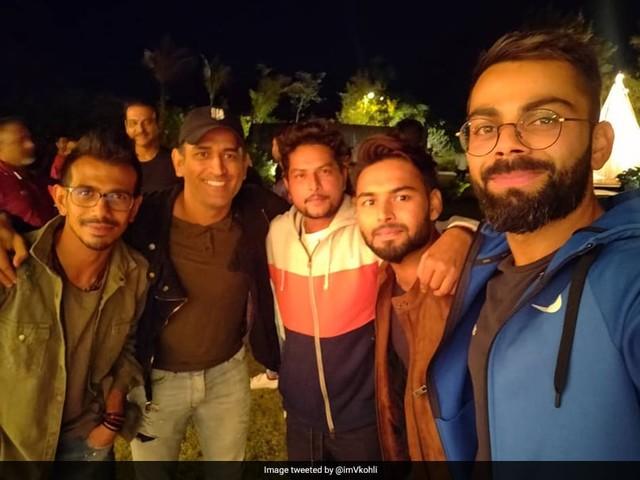 """Virat Kohli Thanks MS Dhoni For """"Perfect Team Evening"""""""