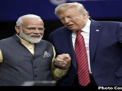 When PM Modi, Trump Walked Hand-In-Hand In A Rock Star-Like Show