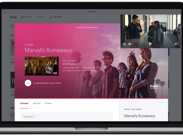 Hulu Live TV beta update brings picture-in-picture, more to web