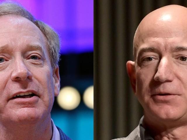 Amazon and Microsoft kick $1 million each toward Seattle-based fund for coronavirus response as Washington state suffers 19 deaths from virus