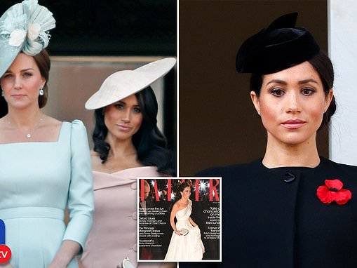 Meghan Markle complains Kate Middleton gets royal support