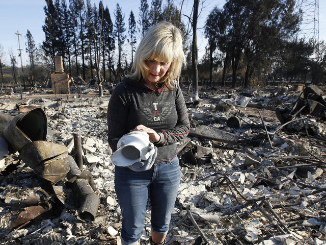 A Thirds Of California's Fire Evacuees Still Waiting To Go Home