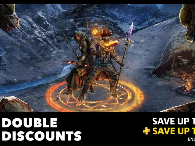 PS Plus Double Discounts Bring Savings up to 80%