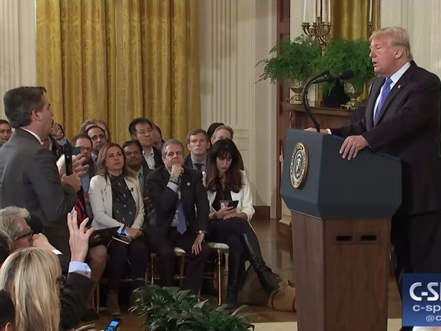 The White House used a doctored video to tell a lie