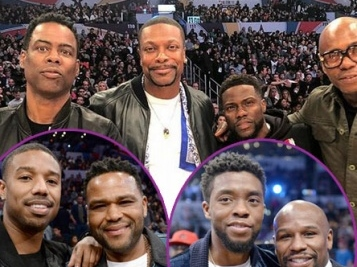 Everybody Was Courtside At The 2018 All-Star Game - Check Out The Celeb-Filled Pics!