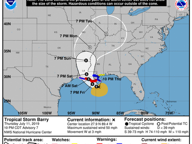 """Up To 25 Inches Of Rain! – New Orleans Faces """"Storm Of Biblical Proportions"""""""