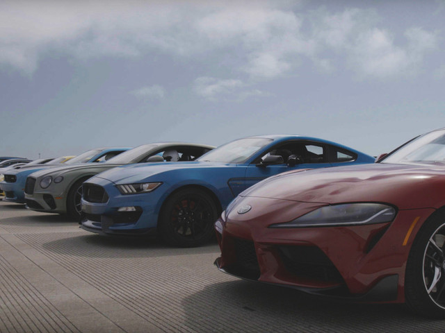 World's Greatest Drag Race 9! Watch 12 of the Fastest Production Cars Compete