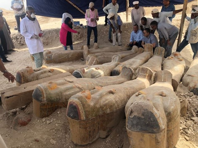30 'Cachette of the Priests' Mummies Discovered in Egypt