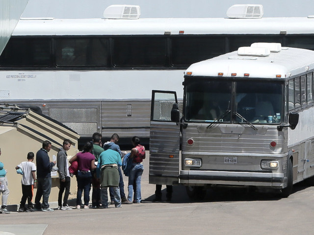 Migrant detentions at border in May highest since 2007