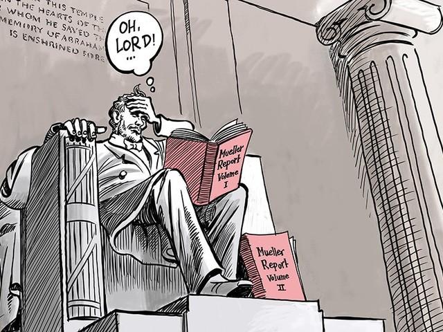Mueller day in D.C...
