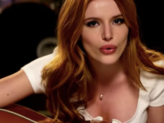 """Bella Thorne Rocks Out In Her """"Burn So Bright"""" Video"""