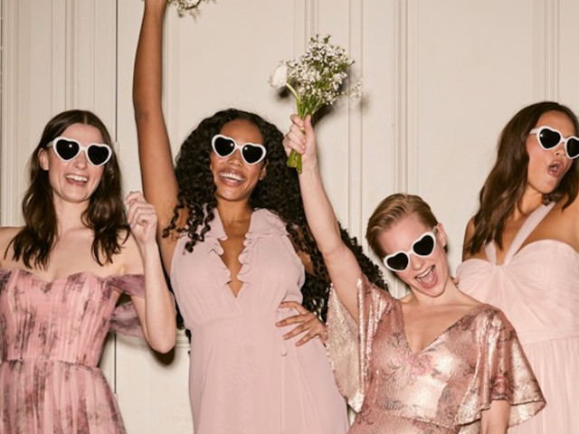 Where To Buy Affordable Bridesmaids Dresses When Matchy-Matchy Isn't By Choice