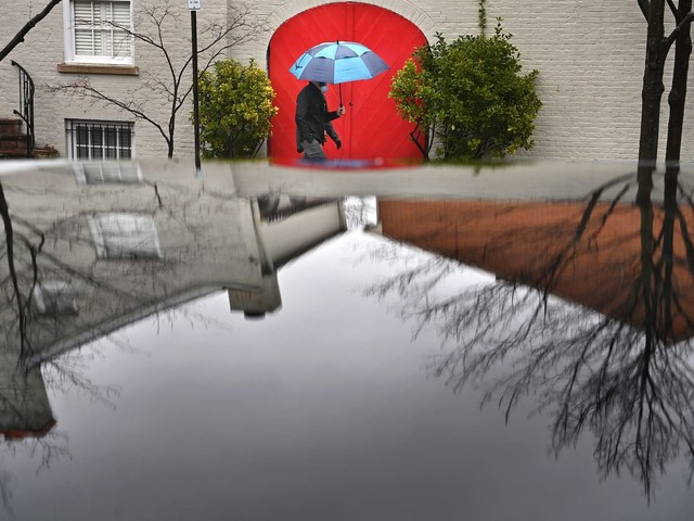 D.C.-area forecast: Rain ends today but a mostly chilly first week of March