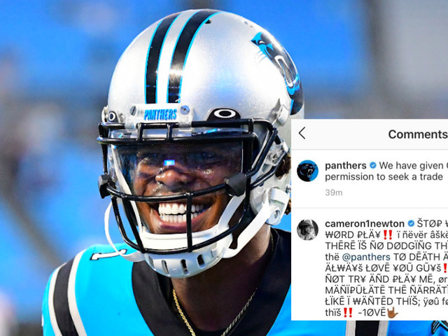 Cam Newton's breakup from the Panthers shouldn't be this messy