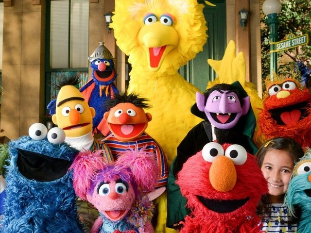 'Sesame Street' turns 50 this year. Here's 15 photos that show how the program has evolved over the years.