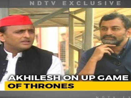 """""""Can Give Congress 2 Seats In UP They Have Always Held"""": Akhilesh Yadav"""