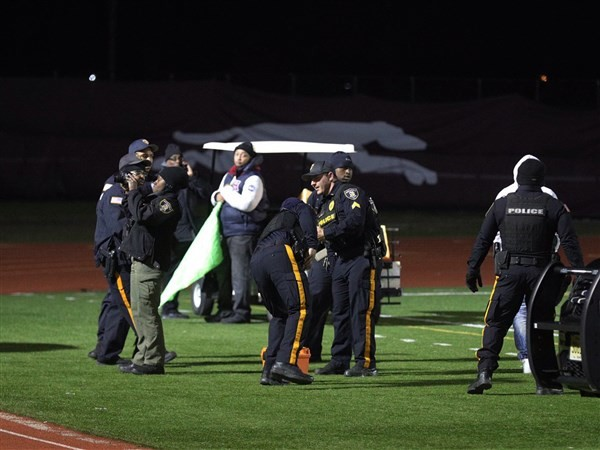 Alleged gunman charged in shooting at N.J. high school football game