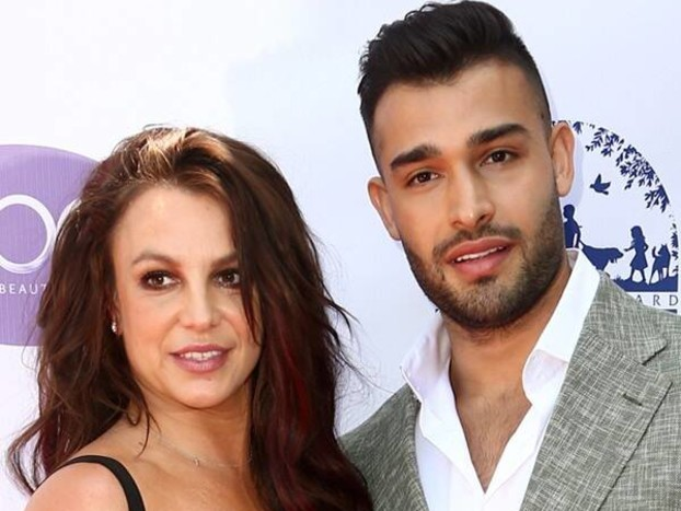 Britney Spears and Sam Asghari Make Rare Red Carpet Appearance