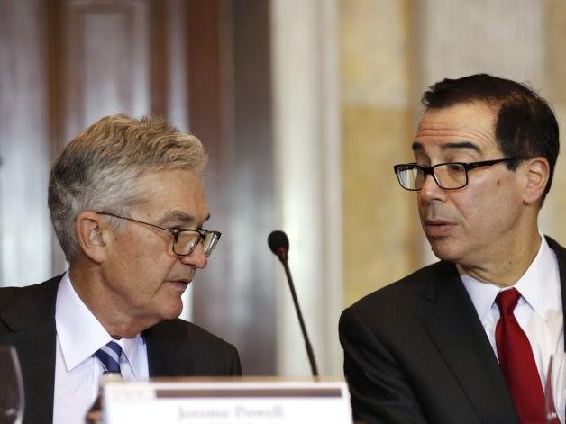 Trump Faults Treasury Secretary Over Fed Pick
