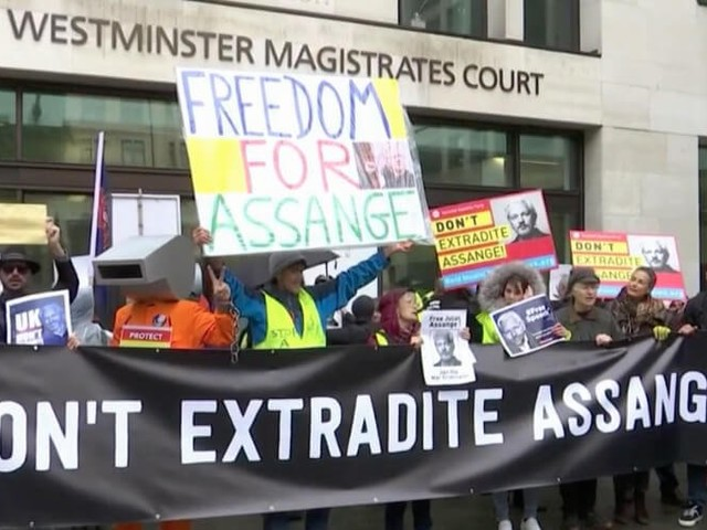 British judge refuses to delay WikiLeaks founder Julian Assange's extradition hearing