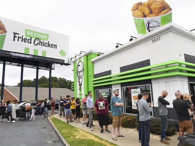 KFC Debuted Plant-Based 'Chicken' & Sold Out In 5 Hours