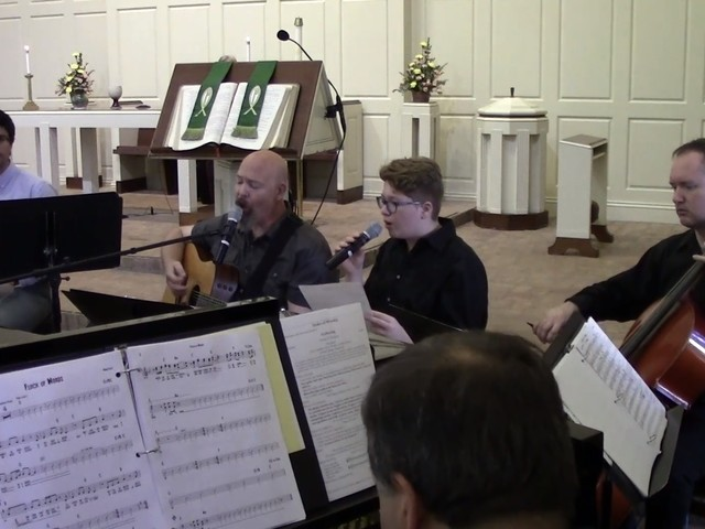 Dave Martin & Grosse Ile Presbyterian Church Band Cover Trey Anastasio's 'Flock Of Words'