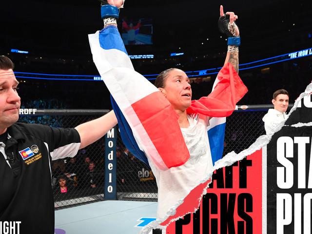 UFC Fight Night: De Randamie vs. Ladd staff picks and predictions