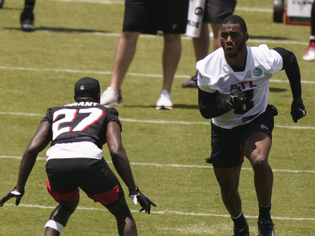 Modest Pitts won't project role as rookie TE with Falcons