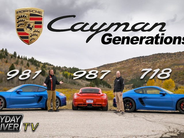 Which Generation Of Porsche Cayman Is The Best?