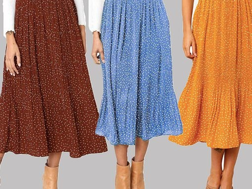 Amazon 'flowy and forgiving' midi skirt will carry you effortlessly from summer to fall