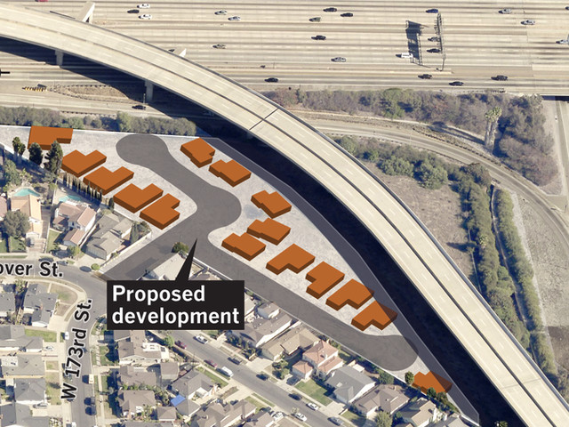 City Council panel rejects plan for homes next to a freeway interchange