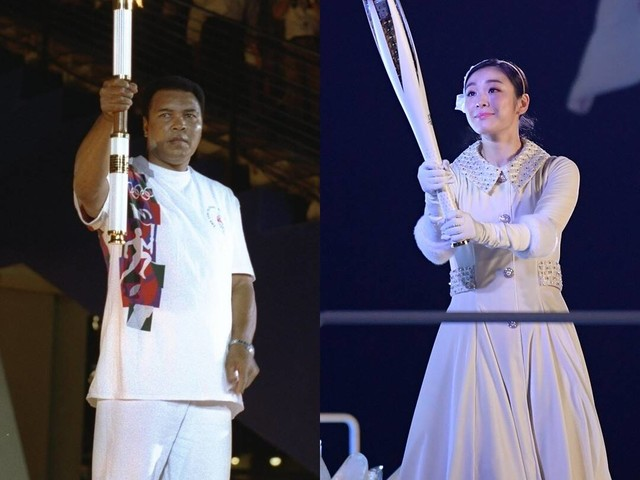 The Olympic Torchbearers Who Lit Up the Games Throughout the Years