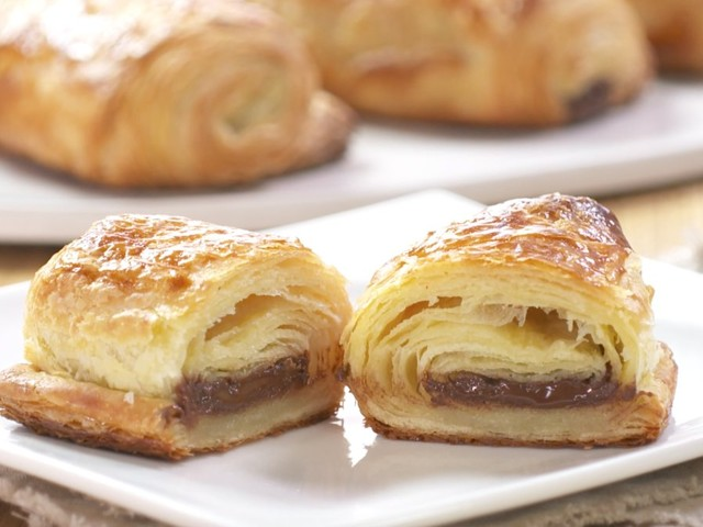 These homemade chocolate croissants are a chocolate lovers dream come true