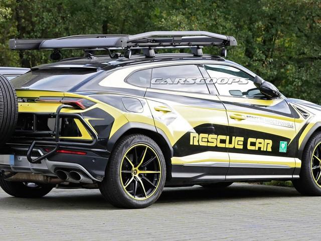 Lamborghini's Urus Rescue Car Can Save Us Anytime