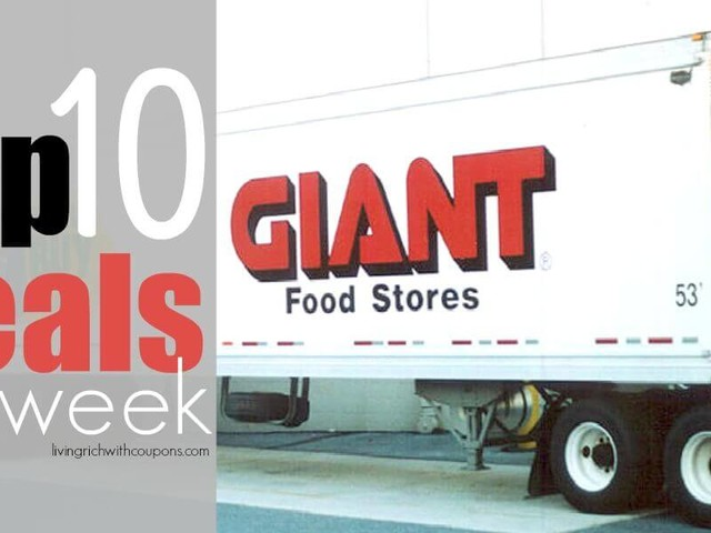 10 of the Most Popular Deals at Giant/Martin – Ending 12/14