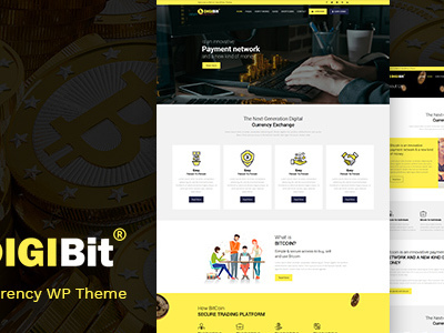 DigiBit - Cryptocurrency, Bitcoin & Mining Theme (Technology)