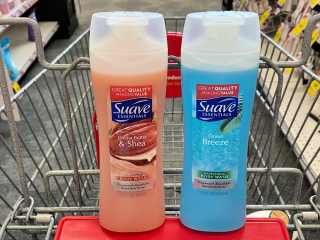 Suave Essentials or Men's Body Wash Only $0.14 at CVS! | Just Use Your Phone