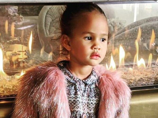 Chrissy Teigen and John Legend's Daughter Luna Is Your New Favorite Stylist
