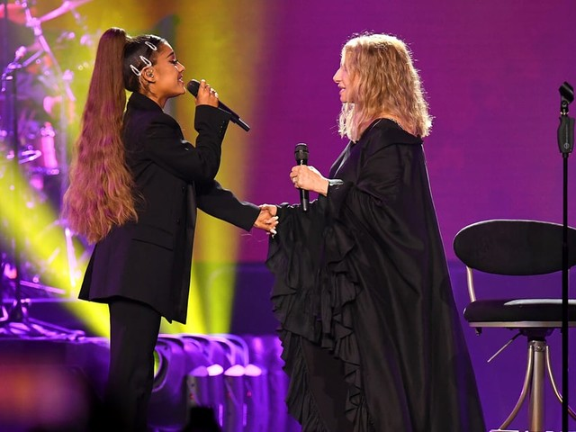 """Ariana Grande's Childhood Dream Came True Singing With Barbra Streisand: """"The Best Night of My Life"""""""