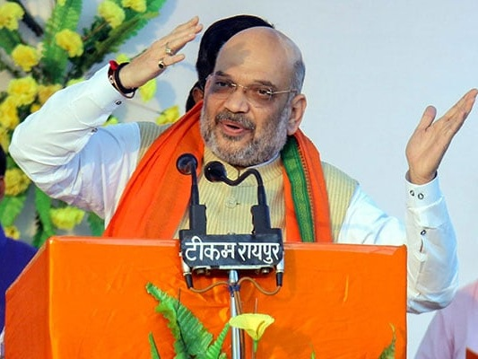 BJP Chief Amit Shah Blames Congress For Poverty, Illiteracy Among Tribals