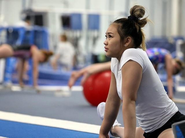 Olympic gymnastics hopefuls Suni Lee, Shane Wiskus gear up for Winter Cup