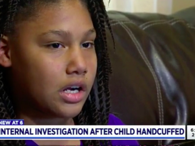 Cops Handcuff 11-Year-Old Girl At Gunpoint As She Walks Out Of Her Home