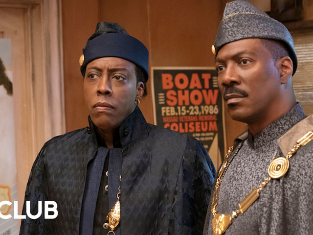 """Eddie Murphy and Arsenio Hall on the """"high school reunion"""" that is Coming 2 America"""