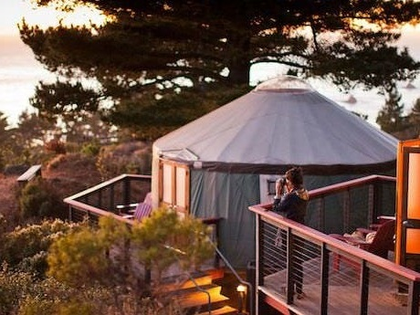 From luxury yurts in Big Sur to a remote, $2,000-a-night resort in British Columbia, take a look inside 4 resorts that put an upscale spin on the outdoors