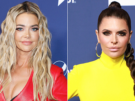 Denise Richards & Lisa Rinna Have Major Falling Out Over Brandi Glanville Drama On 'RHOBH'