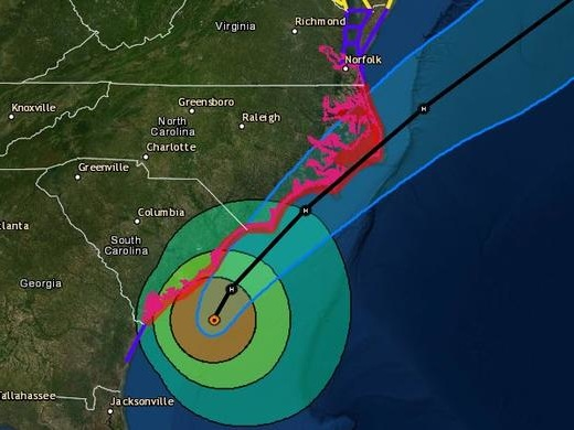 "Hurricane Dorian Has Regained Strength And Is Reportedly ""On A Collision Course With The Carolinas"""