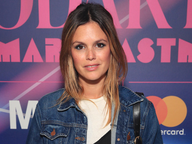 Rachel Bilson 'mom-ing it pretty hard' as she says she's 'still figuring it out' work-wise (Exclusive)