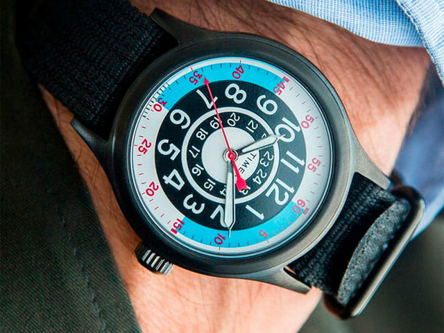 Get This Cool Automotive-Inspired Timex Watch for Just $99